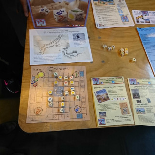 Playing With Ominoes On The Tabletop At UKGE