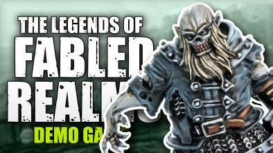 The Legends of the Fabled Realms - Demo Game with 4Ground