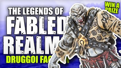 The legends of Fabled Realms: Fighting As The Druggoi Faction