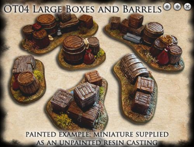 Large Boxes and Barrels