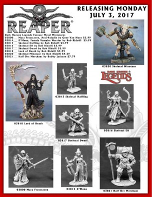 Reaper July Releases
