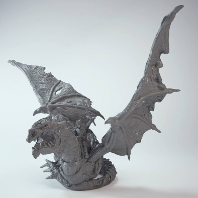 Revenant King on Undead Wyrm (Wings)
