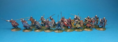 Unarmoured Norman Infantry