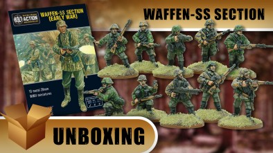 Bolt Action Unboxing: Waffen SS Section