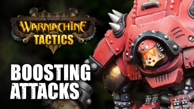 Warmachine Tactics: Boosting Your Attacks