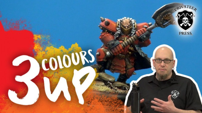 3 Colours Up: Repairing Damaged Paint