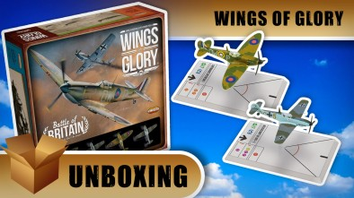 Wings of Glory Unboxing: Battle of Britain