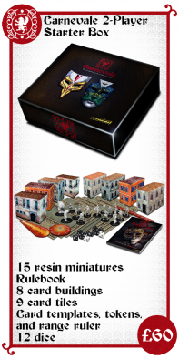 Carnevale Two Player Starter Box