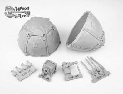 Dwarf Air Balloon (Components)
