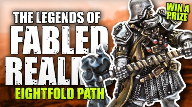The Legends Of Fabled Realms: Fighting With The Eightfold Path Faction