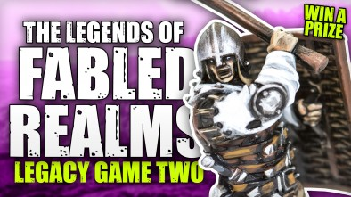 The Legends Of Fabled Realms: Legacy Game - Adam Vs Cad