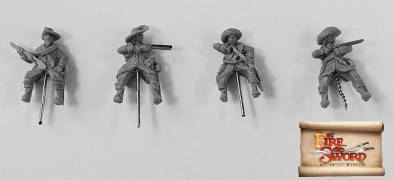 Imperial Cuirassiers With Arquebuses
