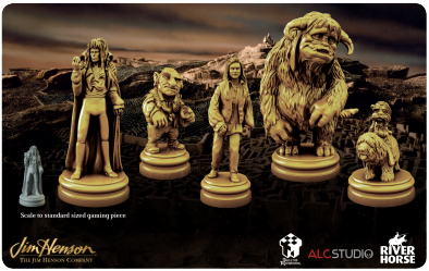 Labyrinth Deluxe Game Pieces