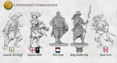 Legendary Commanders