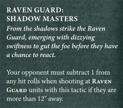 Raven Guard Chapter