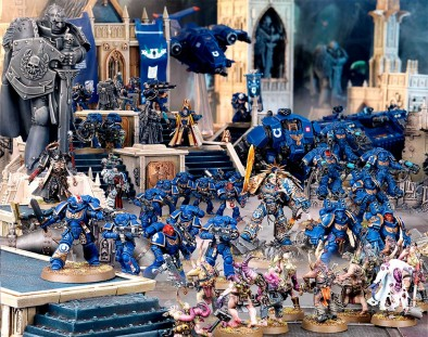 Space Marine Army Preview