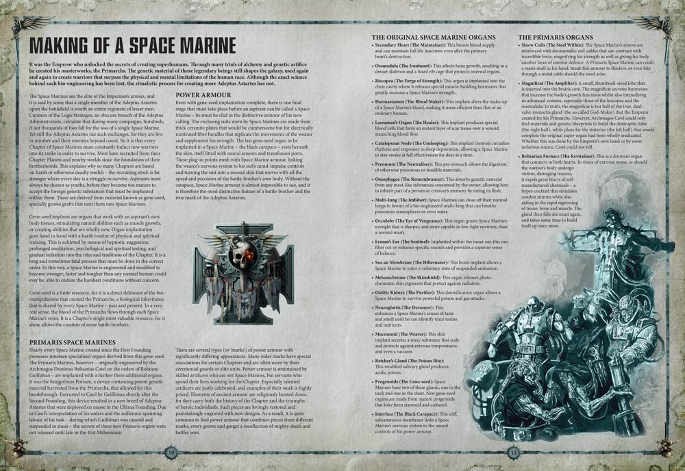 Take A Look Inside The New Space Marine Codex – OnTableTop