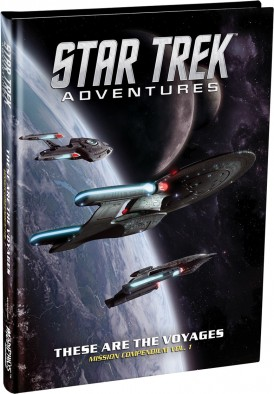 Star Trek Adventures - These Are The Voyages