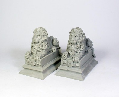 Stone Lions Front
