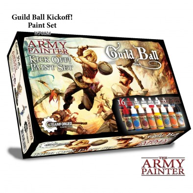 The Army Painter Guild Ball Kickoff Paint Set Front
