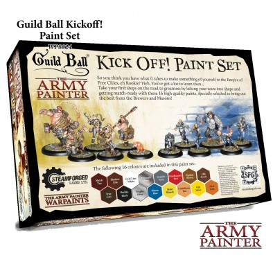The Army Painter Guild Ball Kickoff Paint Set Back