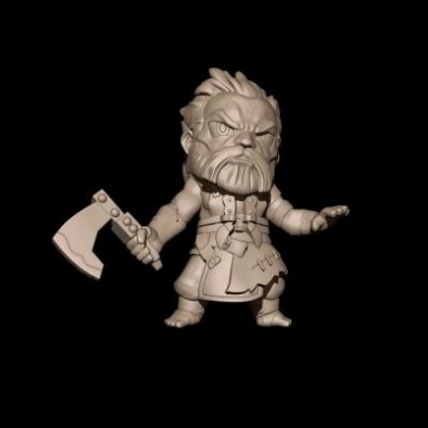 Steamforged Games Guild Ball Chibi Ox