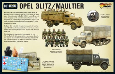 Opel Blitz and Maultier Box Back