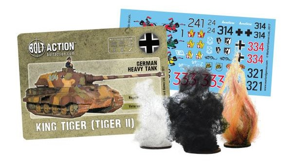 Roll Out the King Tiger Platoon In Bolt Action From Warlord
