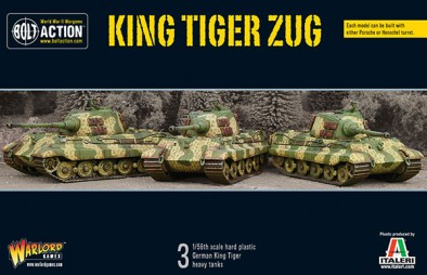 German King Tiger tank by Warlord Games Pro Painted to order Bolt Action