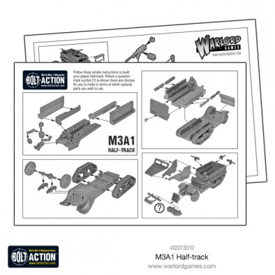 Warlord Games Half-Track Bolt Action Sprue