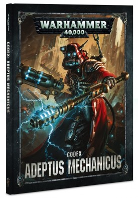 Games Workshop Warhammer 40 AdMech Codex Cover