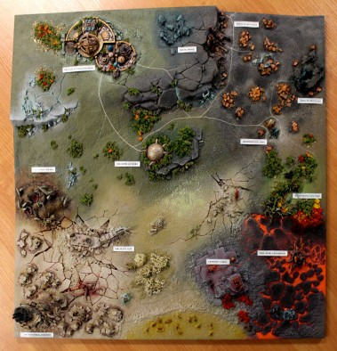 Age Of Sigmar Map Campaign Board