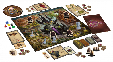 Dark Crystal Board Game (Components)