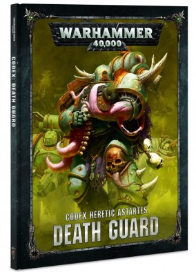 Games Workshop Warhammer 40 Death Guard Codex Cover