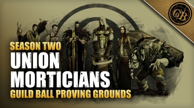 Guild Ball Proving Grounds: Union Vs Morticians