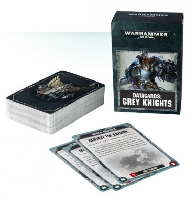 Grey Knight Data Cards