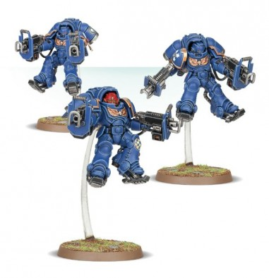Inceptors With Assault Bolters