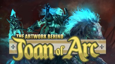 Mythic Games - The Artwork Behind Joan Of Arc