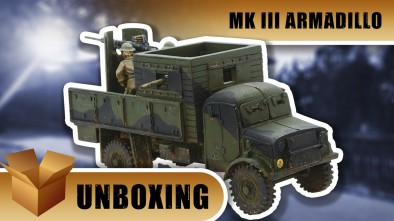 Bolt Action Unboxing: MK III Armadillo