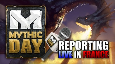 Mythic Day Live Blog: We're Off To France!