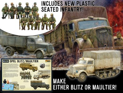 Opel Blitz and Maultier