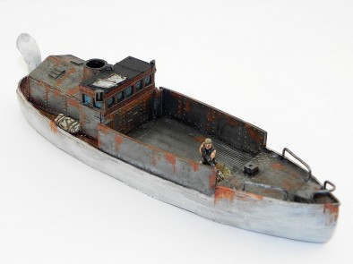 The Scene Post Apocalyptic Boat Side