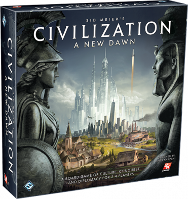 FFG Sid Meier's Civilization A New Dawn Box