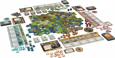 FFG Sid Meier's Civilization A New Dawn Layout