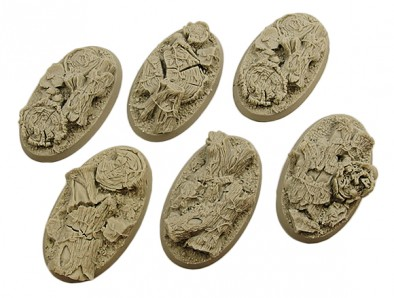 60mm Forest Bases