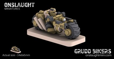 Grudd Bikers Preview