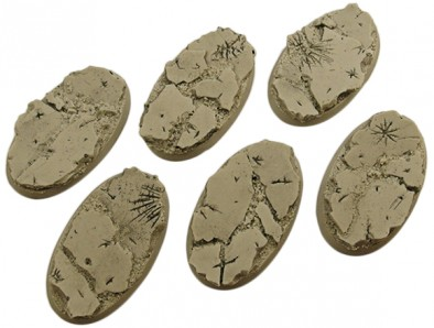 60mm Ruined Bases