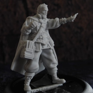 Acolyte Miniatures Wizard Side