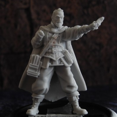 Acolyte Miniatures Wizard Front