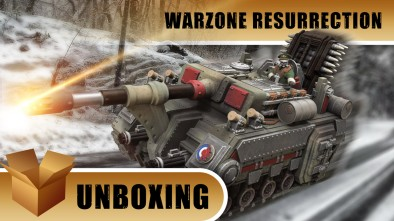 Warzone Resurrection Unboxing: Mk.55 Capitol Bully